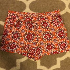 Mossimo Flowy Floral Shorts